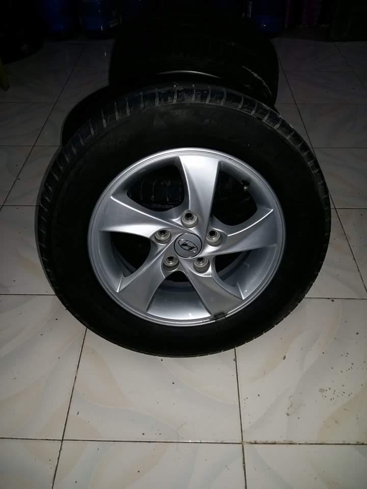 Hyundai Elantra Rim And Tire Used Philippines