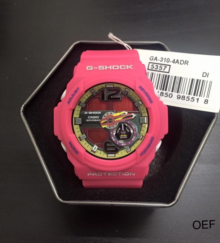 Casio G-shock GA-310-4ADR photo