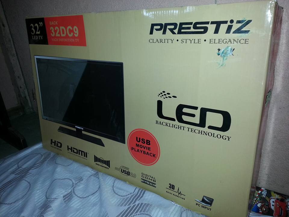 prestiz 32 inch led tv almost new photo