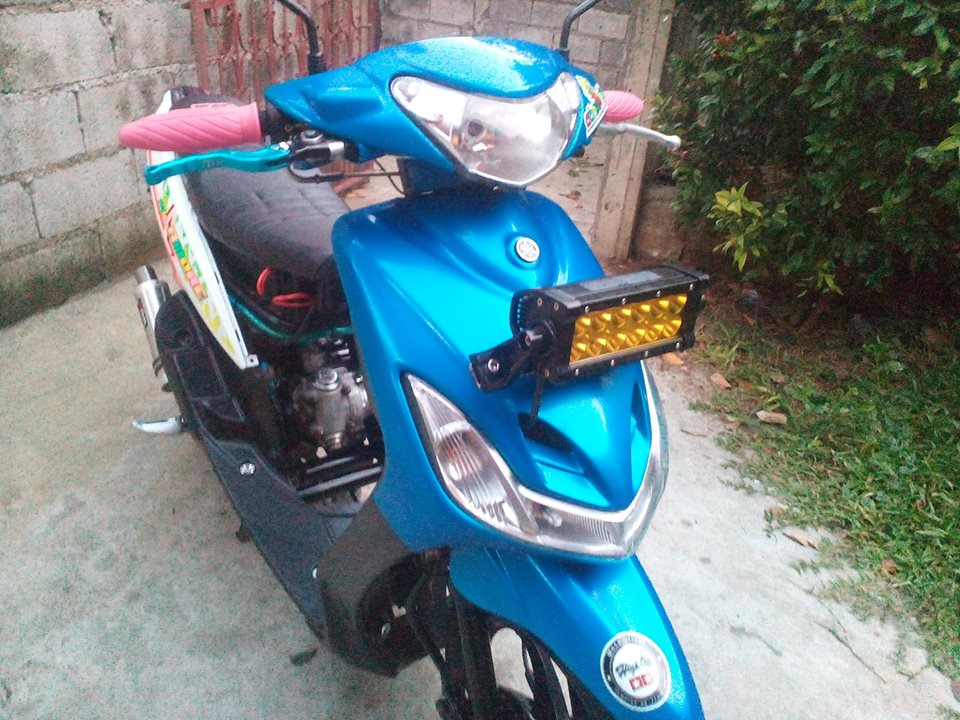 Yamaha Mio soul Thailand converted to Mio amore 130cc photo