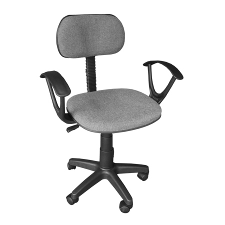 Ergodynamic Staff Office Chair, Computer Chair Desk Chair (Grey) photo