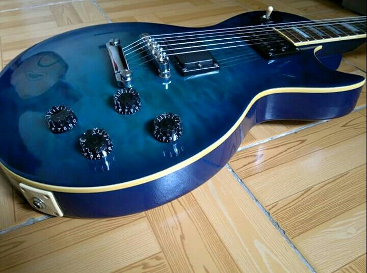 Barclay les paul electric guitar photo