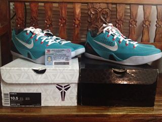 Kobe 9 dusty cactus photo