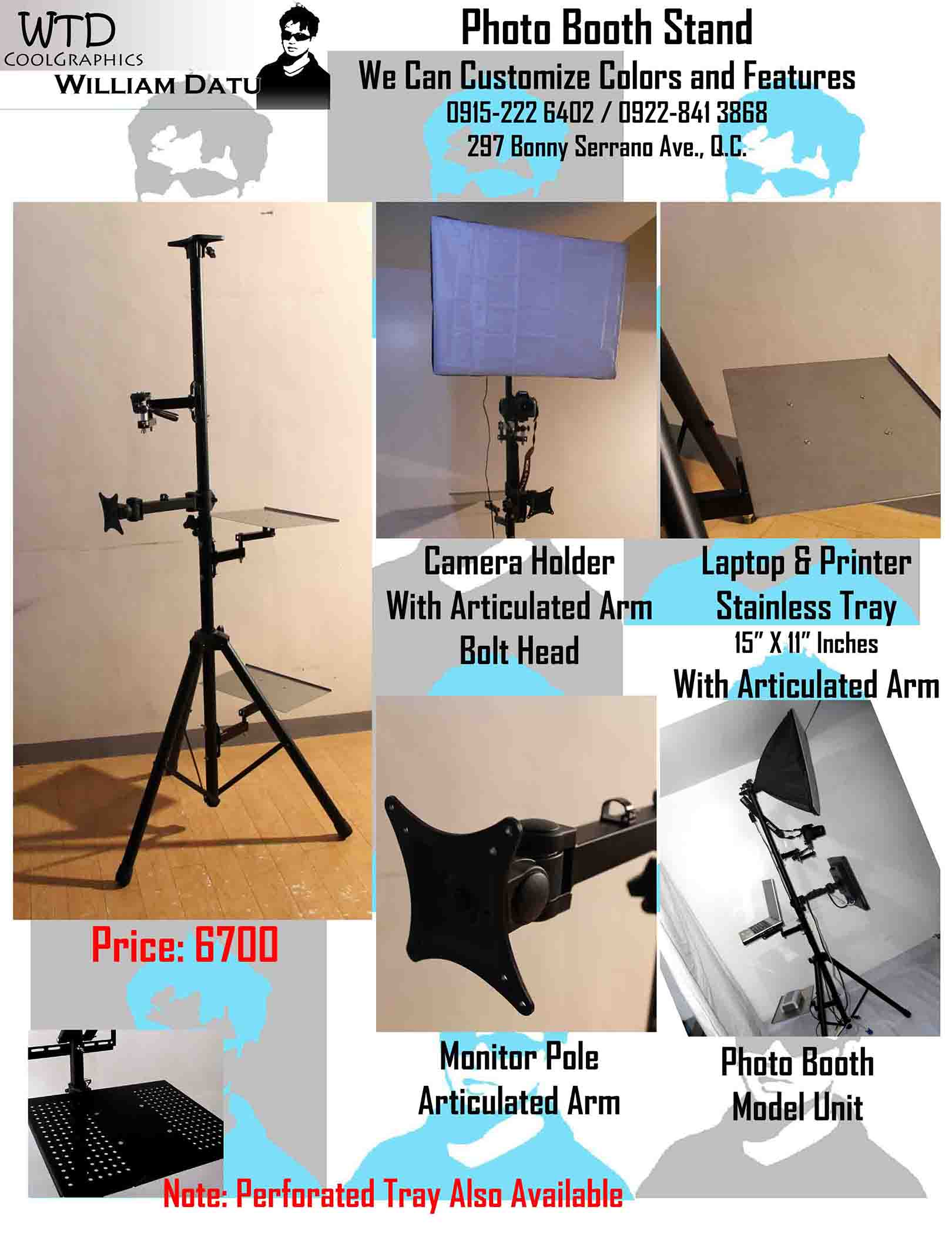 Photo Booth Tripod Stand image 2