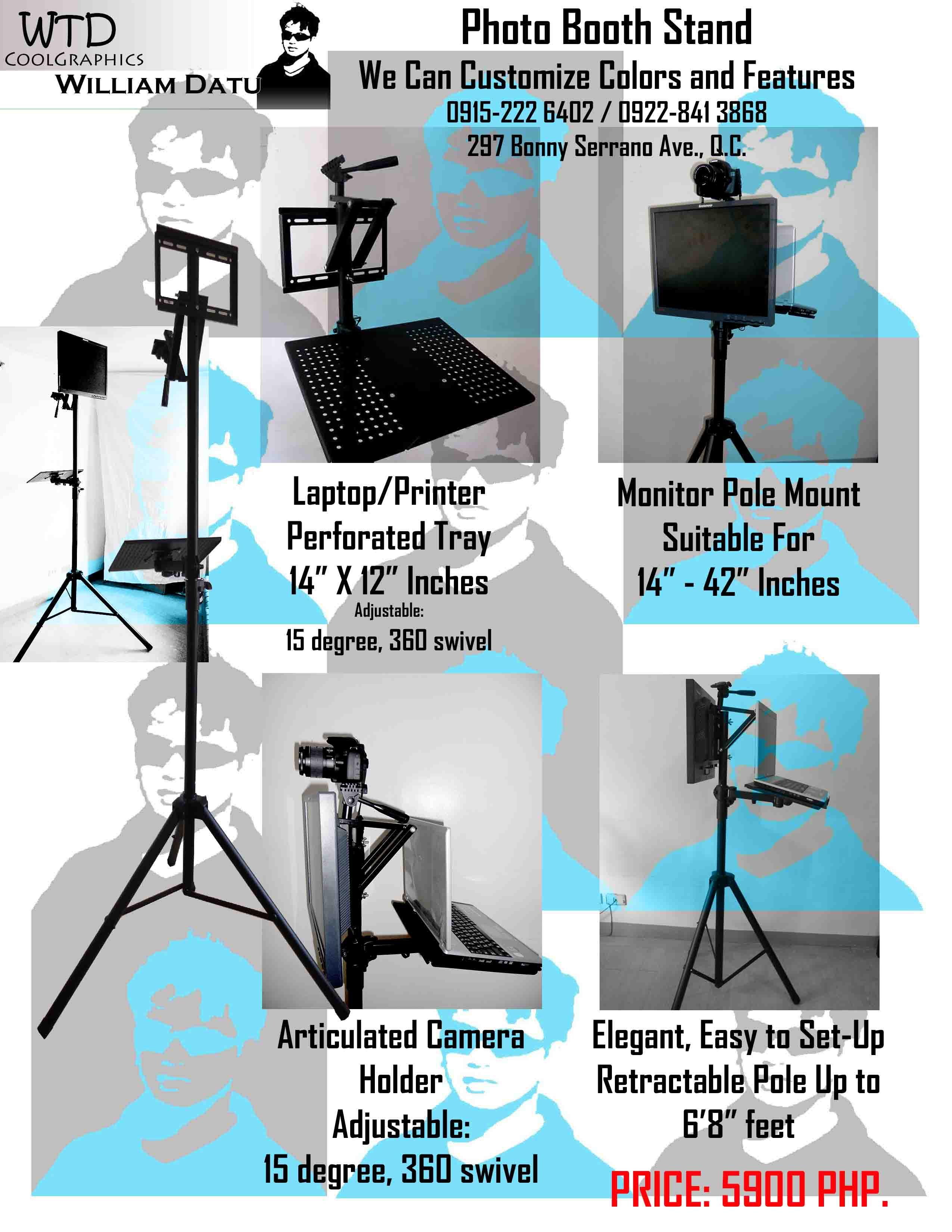 Photo Booth Tripod Stand photo