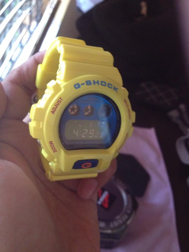 Casio Gshock DW900PL-9DR yellow photo