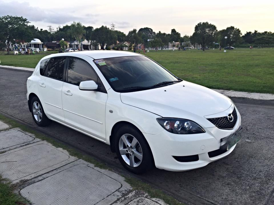 2006 mazda 3 hatchback white used philippines. Black Bedroom Furniture Sets. Home Design Ideas