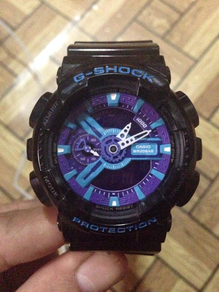 gshock black Violet photo