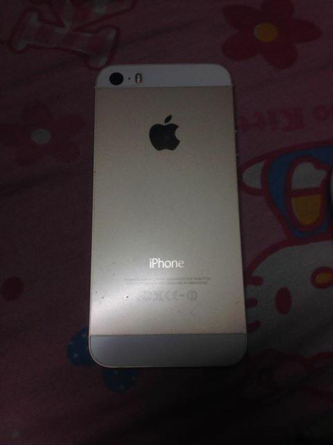 iphone 5s gold smartlocked 16gb photo