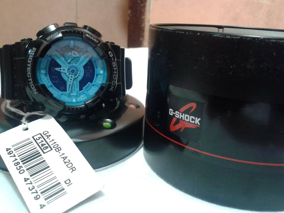 gshock ga110 aka BLUEFACE photo