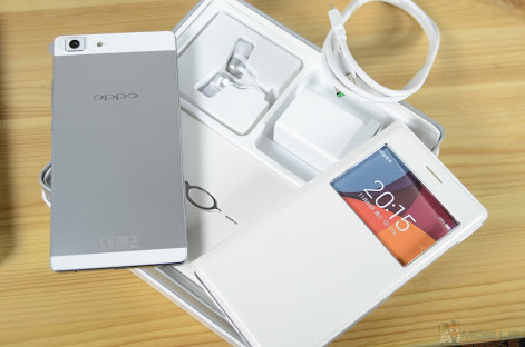 oppo r5 complete package with warranty photo