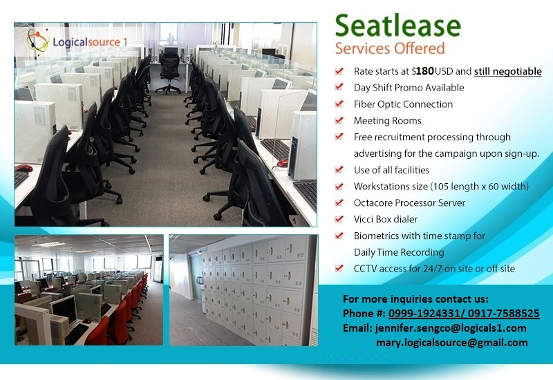 Call Center Seat Lease Ortigas Pasig photo