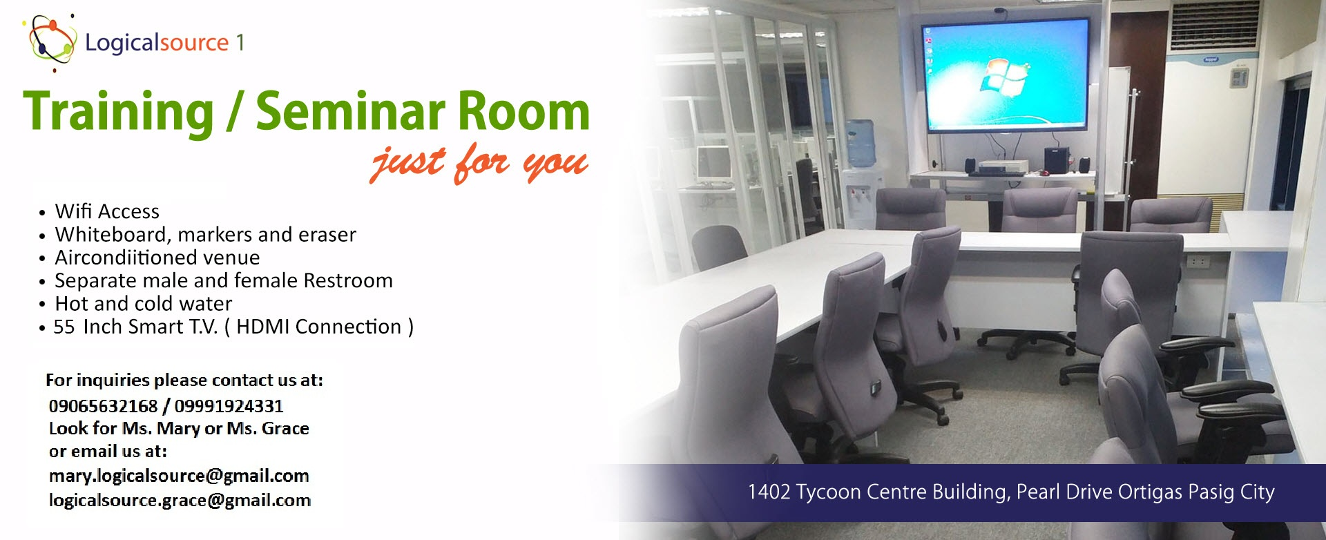 Training/Seminar Room For Rent photo
