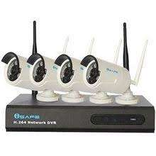 iSAFE™ CCTV Camera Package 4CH Real-Time AHD WIFI DVR KIT W/ 4 Weather proof Cameras photo