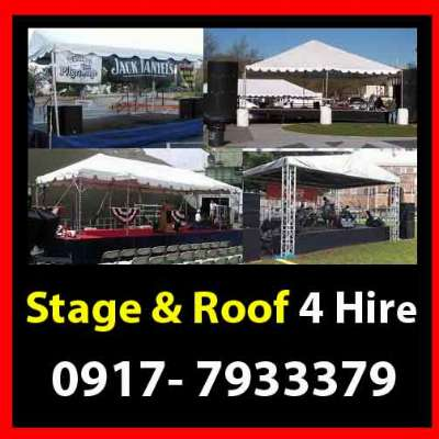 Stage & Roof Rent Hire Manila Philippines photo