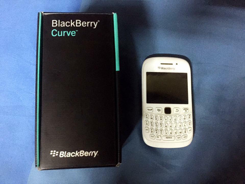 Blackberry 9320 with flash photo