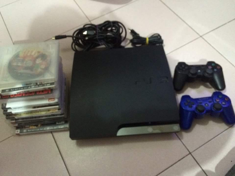 Sony PS3 320GB (cech-2504b) slim photo