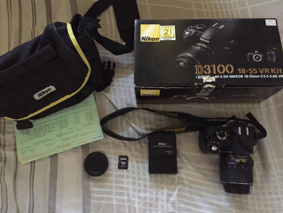 Nikon D3100 Complete accessories photo