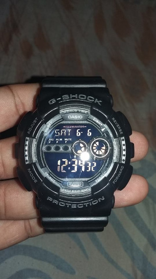 Gshock GD100 Black photo