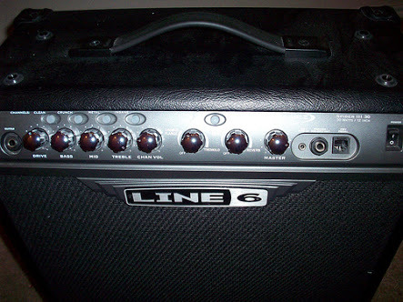 LINE 6 SPIDER III 30 WATT (Rush) photo