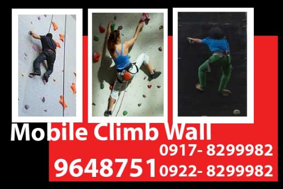 Mobile Climb Wall Rental photo