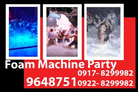 Foam Machine Party Rental photo