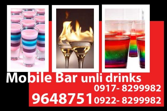 Mobile Bar Unli Drinks Rental photo