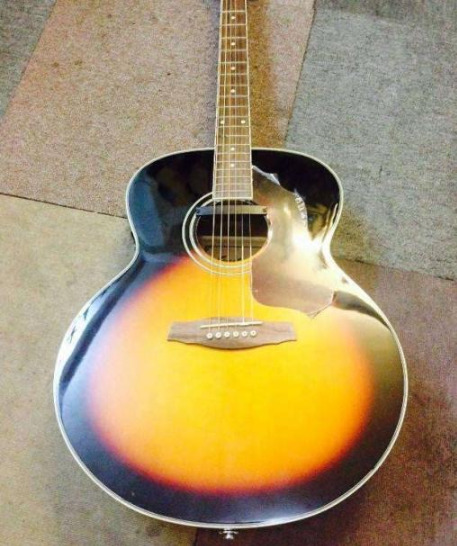 Acoustic guitar ibanez sgt130e photo