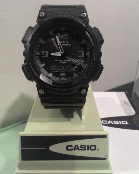 Casio Tough Solar (Dark Knight) photo