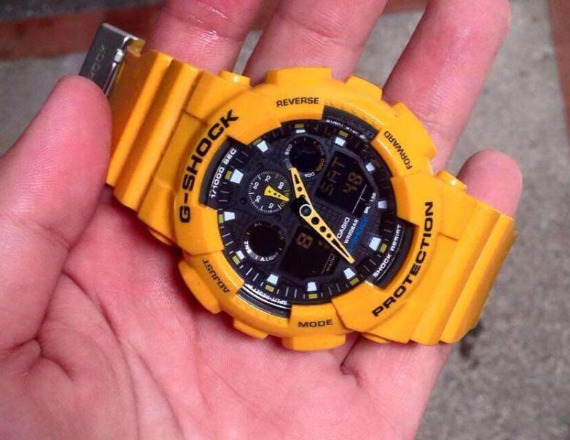 G-shock Bumble Bee photo