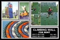 Climb Wall Rental Hire Manila Philippines photo