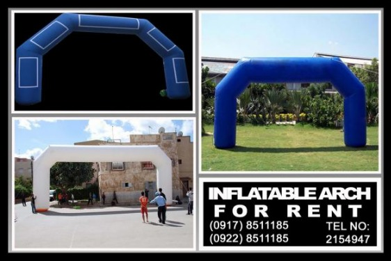 Inflatable Arch Rental Hire Manila Philippines photo