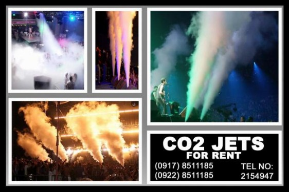 CO2 Jets Rental Hire Manila Philippines photo