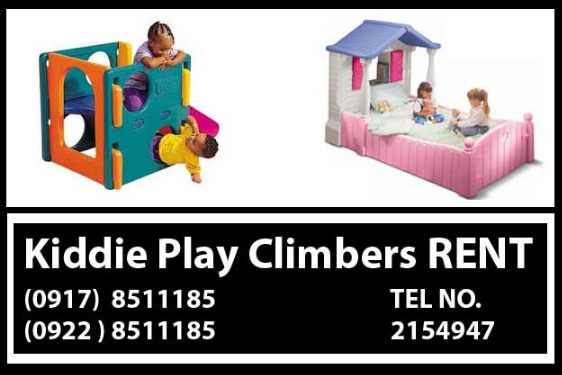 Kiddie Play Climbers Rental Hire Manila Philippines photo