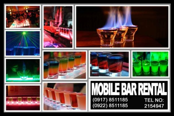 Mobile Bar Unli Drinks Rental Hire Manila Philippines photo