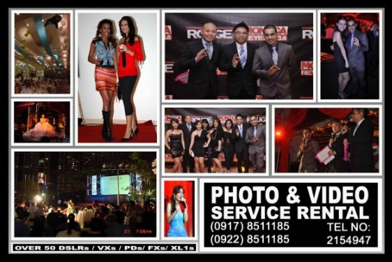 Photo and Video Services Rental Hire Manila Philippines photo