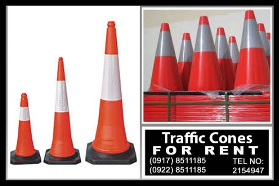 Street Cones Rental Hire Manila Philippines photo