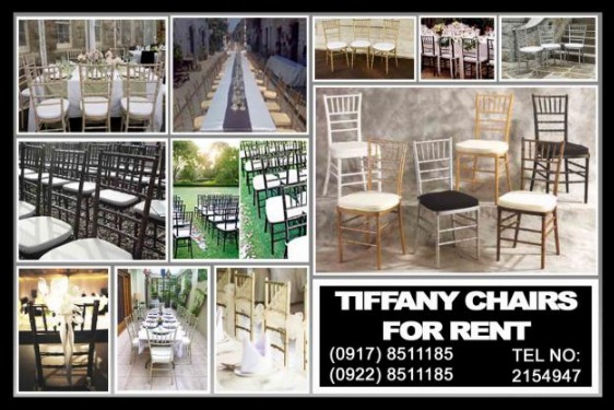 Tiffany Chairs Rental Hire Manila Philippines photo
