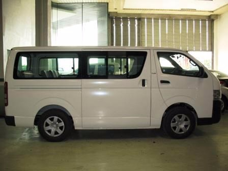 VAN for Rent (toyota hiace commuter) photo