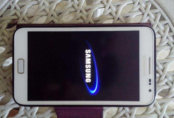Samsung galaxy note 1 photo