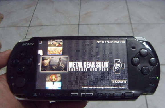 Psp 3001 Slim 8gb Mmc With 17Games installed photo