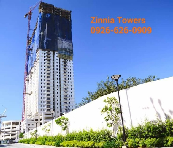 CONDO IN QUEZON CITY FOR SALE ZINNIA TOWERS photo