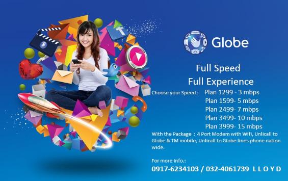 Globe business plan kbps to mbps