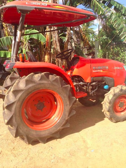 farm tractor KUBOTA L3608 photo