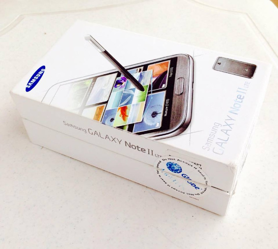 Samsung galaxy note 2 black 16gb Globe 4G LTE photo