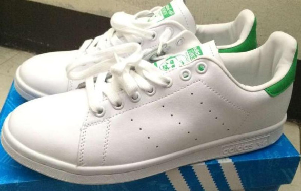 Adidas Stan Smith Green Size 9.5 Mens photo