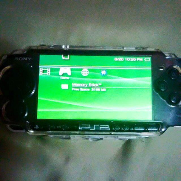 PSP Slim 3000 Black NEGO photo