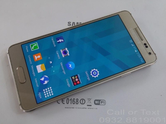 Samsung Galaxy Alpha G850F photo
