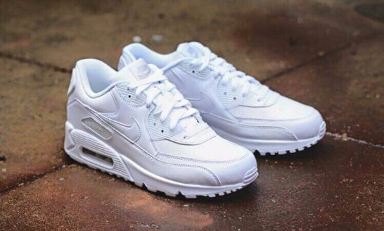 Airmax 90 (Full White) photo