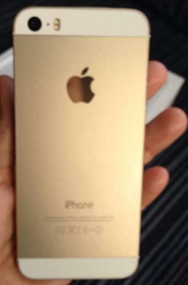 Iphone 5s gold 16gb globe photo